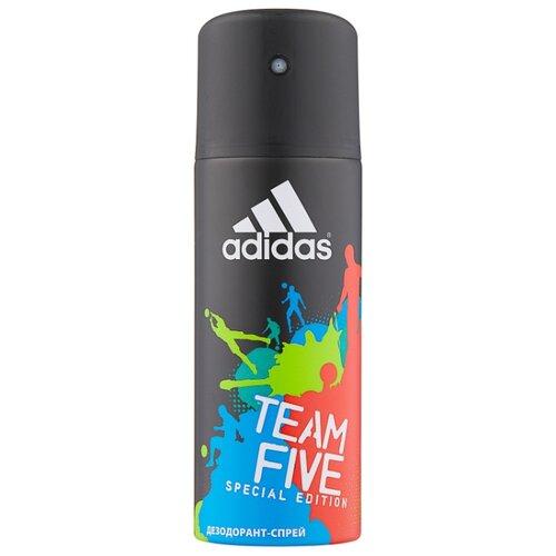 Дезодорант спрей Adidas Team Five, 150 мл, 96 г