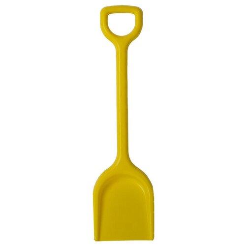Купить Лопата детская Стром пластмассовая, 57 см желтая, СТРОМ, Наборы в песочницу
