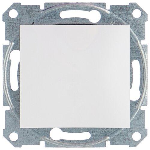 Выключатель 1-полюсный Schneider Electric SEDNA SDN0100121,10А, белый фото
