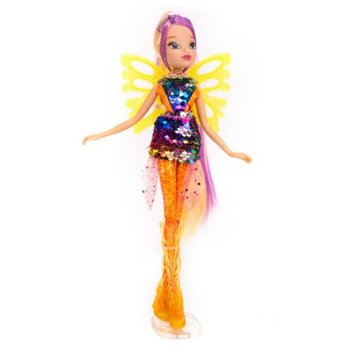 цена на Кукла Winx Club Сиреникс Мыльные пузыри Стелла, 27 см, IW01731803