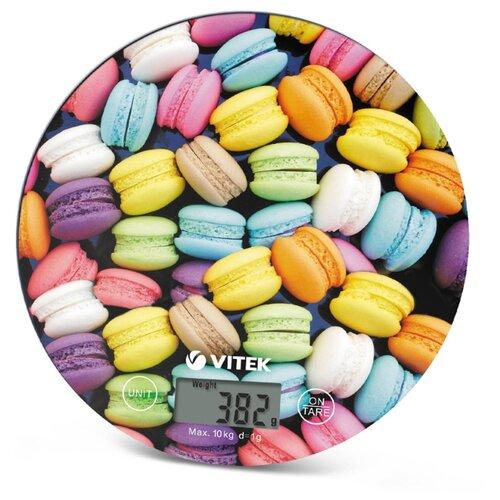 Кухонные весы VITEK VT-2407 многоцветный весы кухонные vitek vt 8021 st серебристый