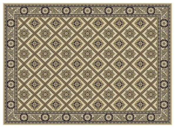 FLOARE-CARPET Ковровая дорожка шерстяная Floare GARDEN 089-60121 0.5x2 м.
