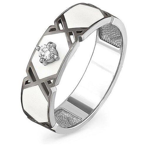 Фото - KABAROVSKY Кольцо с 1 бриллиантом из белого золота 11-11048-1010, размер 17 kabarovsky кольцо с 11 бриллиантами из белого золота 11 1803 1010 размер 17