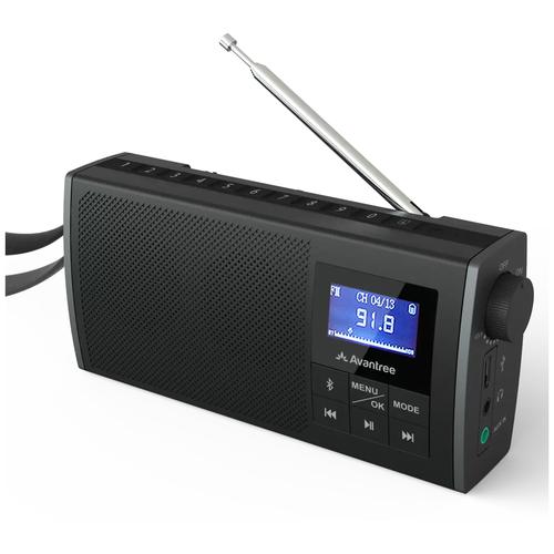 Портативная акустика с FM радио Avantree Soundbyte