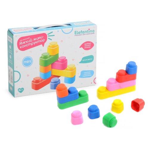 Купить Мягкий конструктор Elefantino IT104235 Для малышей, Конструкторы