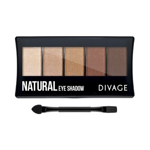 DIVAGE Палетка теней Palettes Eye Shadow natural палетка теней для бровей еyebrow shadow