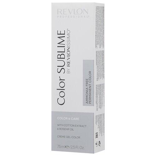 Revlon Professional Revlonissimo Color Sublime стойкая краска для волос, 75 мл, 6.34 темный блондин золотисто-медный