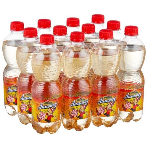 Газированный напиток Fruktomania Оригинальный лимонад (Буратино), 0.5 л, 12 шт. мингаз лимонад напиток 0 5 л