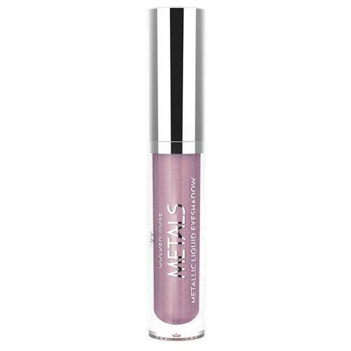 Golden Rose Тени для век Metallic Liquid Eyeshadow 110 relouis тени для век pro eyeshadow satin 32 rose quartz