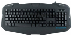 Игровая клавиатура OKLICK 730 G Black USB