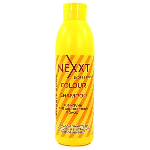NEXXT шампунь Professional Classic Сare Colour для окрашенных волос 1000 мл nexxt professional classic care volume шампунь для объема волос 1000 мл