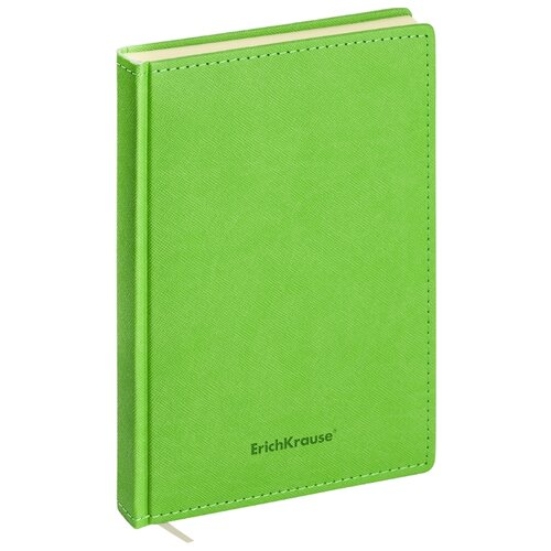 Купить Ежедневник ErichKrause Silhouette недатированный, искусственная кожа, А5, 168 листов, зеленый, Ежедневники, записные книжки