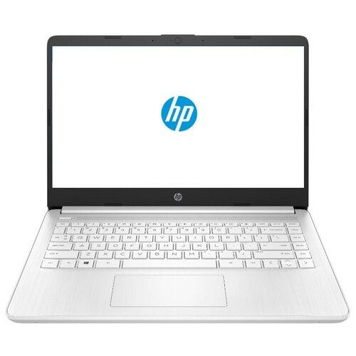 "Ноутбук HP 14s-dq2011ur (Intel Pentium 7505 2000MHz/14""/1920x1080/4GB/256GB SSD/Intel Iris Xe Graphics/DOS) 2X1P7EA ярко-белый"