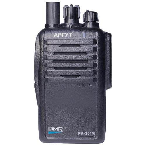 Рация АРГУТ РК-301М UHF с функцией роуминга черный