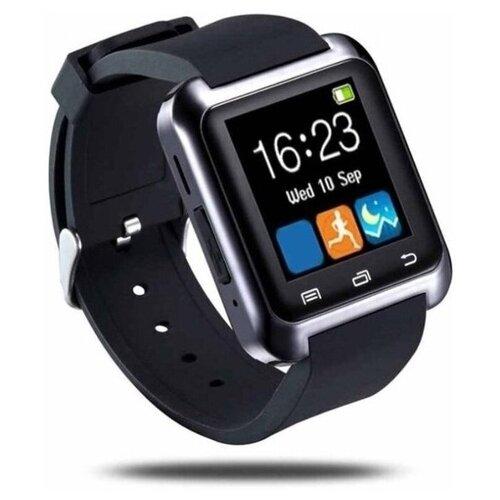 Фото - Умные часы Beverni Smart Watch U8 (Черный) умные часы beverni smart watch t58 серебристый