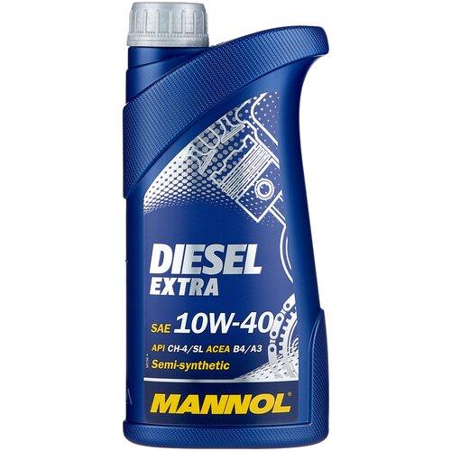 Фото - Полусинтетическое моторное масло Mannol Diesel Extra 10W-40 1 л минеральное моторное масло mannol ts 1 shpd 15w 40 10 л