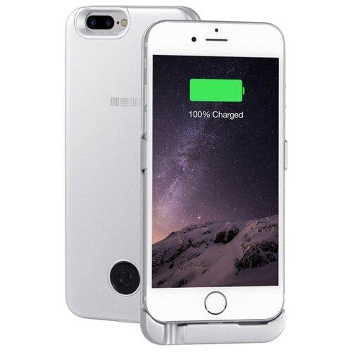 Купить Чехол-аккумулятор INTERSTEP Metal battery case для iPhone 6 Plus/7 Plus silver