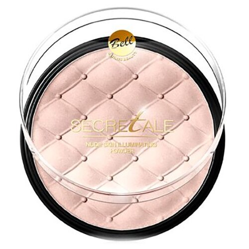 Фото - Bell Пудра компактная Secretale Nude Skin Illuminating Powder 01 пудра bell bell be091lwelfk8
