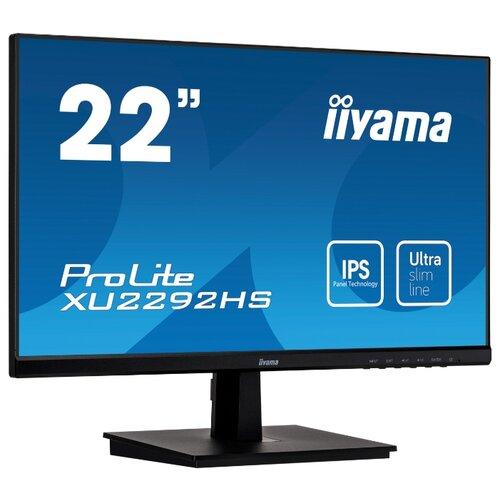 Монитор Iiyama ProLite XU2292HS-B1 21.5 черный монитор iiyama prolite xub2495wsu b1 24 1 черный