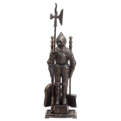 """Каминный набор Royal Flame 50011АGK """"Рыцарь"""" бронзовый"""