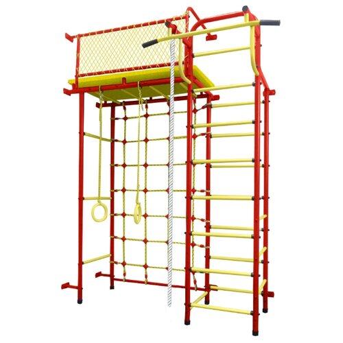 Купить Спортивно-игровой комплекс Пионер 10СМ красный/желтый, Игровые и спортивные комплексы и горки
