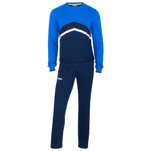Тренировочный костюм Jogel Jcs- 4201-971, хлопок, темно-синий/синий/белый (L)