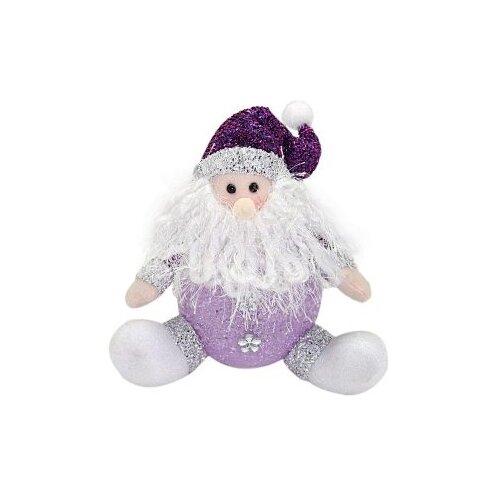 Фигурка Новогодняя Сказка Дед мороз 18 см (949185) фиолетовый фигурки magic time фигурка новогодняя дед мороз с зайчиком 75531