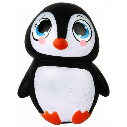 Купить Игрушка-мялка 1 TOY Пингвин Т12321 черно-белый, Игрушки-антистресс