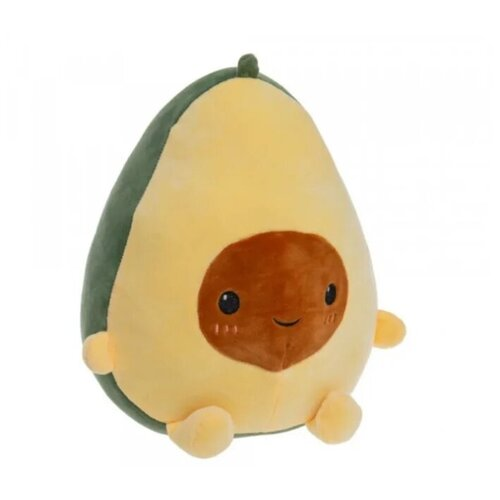Мягкая игрушка Авокадо велюр гладкий 40 см