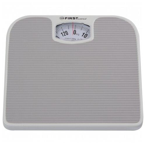 Весы напольные FIRST FA-8020-GR, механика, 130 кг, градация: 1 кг
