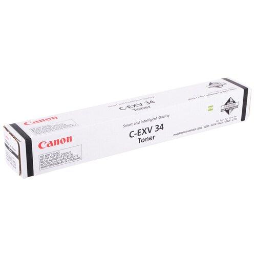 Картридж Canon C-EXV34 BK (3782B002)