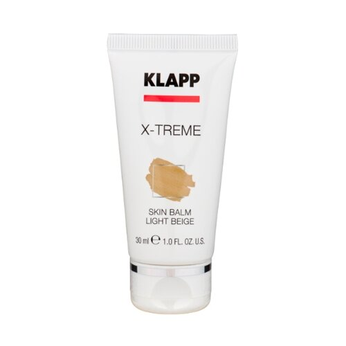 klapp x treme super lipid cream Klapp Тональное средство X-treme Skin Balm, 30 мл, оттенок: light beige
