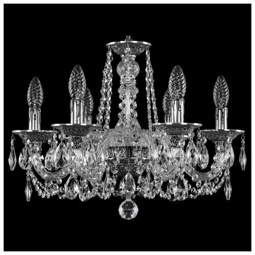 Люстра Bohemia Ivele Crystal 1602 16102/6/165 NB, E14, 240 Вт люстра bohemia ivele crystal 1771 1771 12 220 b nb e14 480 вт