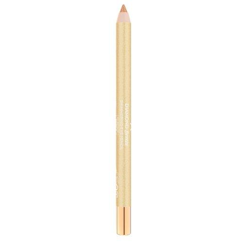 Golden Rose Карандаш для глаз Diamond Breeze Shimmering Eye Pencil, оттенок 02 bronze sparkle