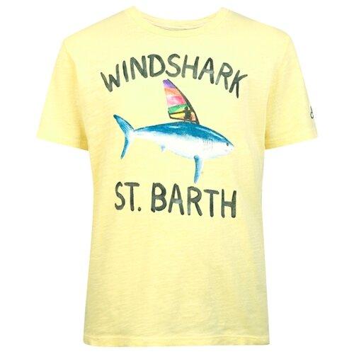 Фото - Футболка MC2 Saint Barth размер 128, желтый футболка mc2 saint barth размер 128 белый