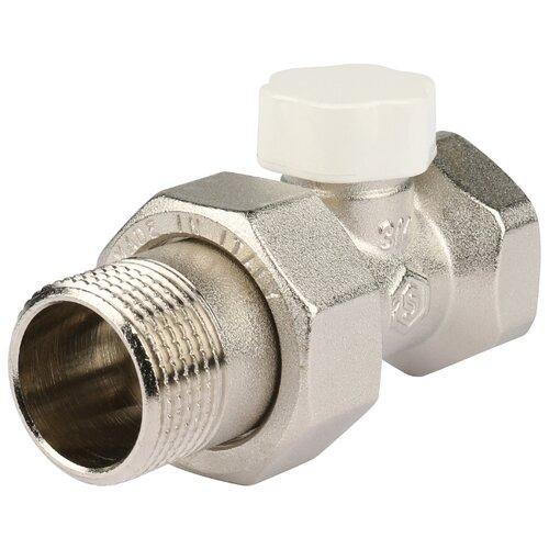 Фото - Запорный клапан STOUT SVL 1176 муфтовый (ВР/НР), латунь, для радиаторов Ду 20 (3/4) запорный клапан far ft 1616 муфтовый нр нр латунь для радиаторов ду 15 1 2