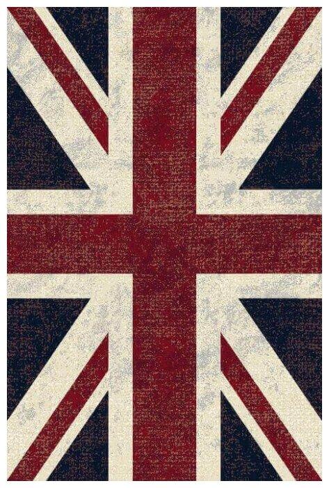 Ragolle Ковер ворс вискоза-хлопок ROYAL PALACE 14793 6010 Британский Флаг 0.67x1.05 м.