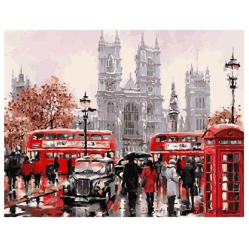 Купить ВанГогВоМне Картина по номерам Лондон , 40х50 см (ZX 20350), Картины по номерам и контурам