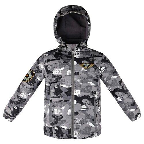 Куртка Reike Сamouflage (42 020 005/42 020 007) размер 164, серыйКуртки и пуховики<br>
