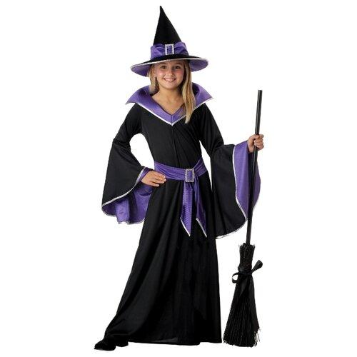 Купить Костюм California Costumes Гламурная ведьма 00275, фиолетовый/черный, размер XL (12-14 лет), Карнавальные костюмы