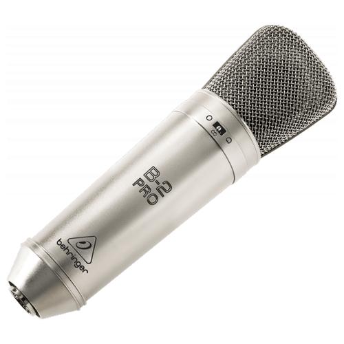 Микрофон BEHRINGER B-2 PRO серебристый