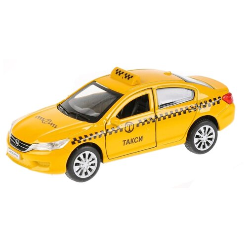 Легковой автомобиль ТЕХНОПАРК Honda Accord (ACCORD-T) 12 см желтый автомобильные держатели и подставки honda accord