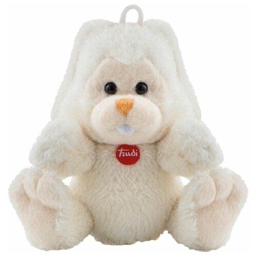 Игрушка-брелок Trudi Заяц Вирджилио 9 см мягкая игрушка trudi заяц белый 28 см