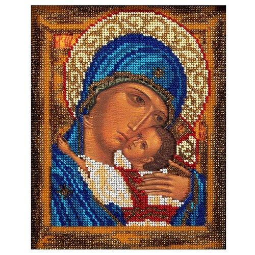 Купить Радуга бисера Набор для вышивания бисером Богоматерь Умиление 18 x 22 см (В-181), Наборы для вышивания