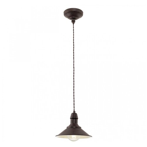 Потолочный светильник Eglo 49455, E27, 60 Вт светильник eglo rondo 85261 e27 60 вт