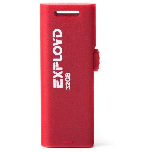 Фото - Флешка EXPLOYD 580 32 GB, red