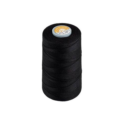 Купить Нитки армированные швейные, 2500 м (цвет: черный), арт. 65 ЛХ, ПРЯДИЛЬНО-НИТОЧНЫЙ КОМБИНАТ ИМЕНИ С.М. КИРОВА