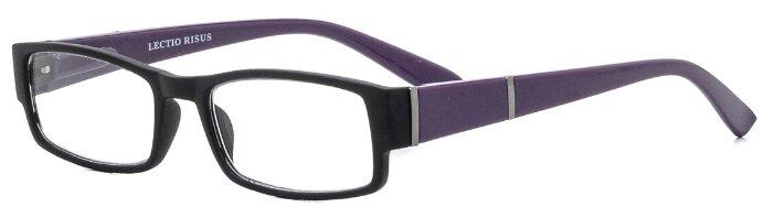 Купить Очки корректирующие Lectio Risus P022, + 2.00, цвет оправы: черный по низкой цене с доставкой из Яндекс.Маркета (бывший Беру)