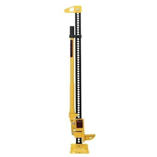 Домкрат реечный механический T-max W0056 (2.27 т) желтый