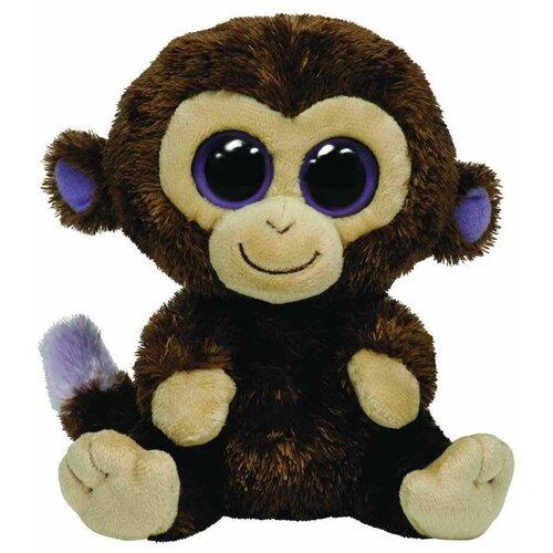 Мягкая игрушка TY Beanie boos Обезьянка Coconut 15 см